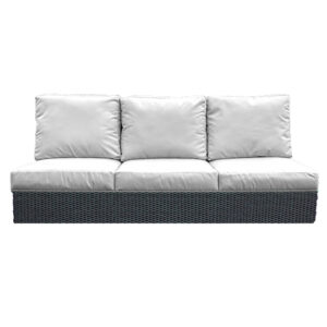 3 Seat Sofa - ORWW Woven Collection - Driftwood - White