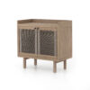 ALMA CABINET - WASHED BROWN