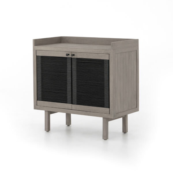 ALMA CABINET - WEATHERED GREY