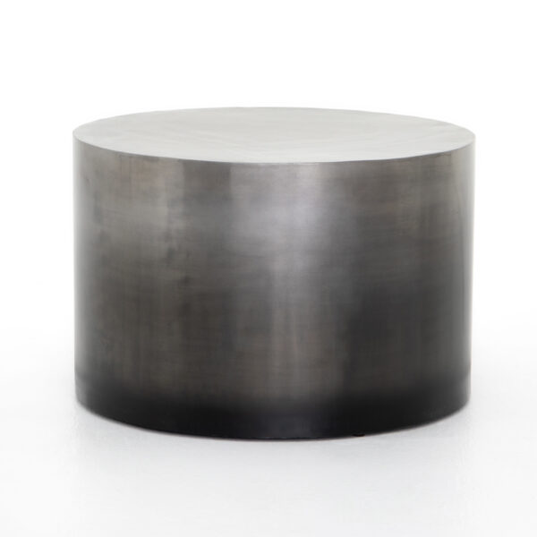 CAMERON OMBRE BUNCHING TABLE - ANTIQUE PEWTER