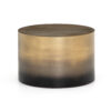CAMERON OMBRE BUNCHING TABLE - ANTIQUE BRASS