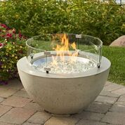 Round Fire Tables - Cove 20 with Wind Guard