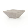 DELWIN SQUARE COFFEE - WEATHERED GREY