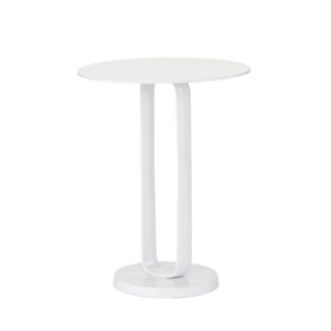 DOUGLAS END TABLE - WHITE