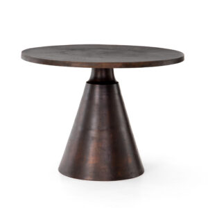 MINA BISTRO TABLE - ANTIQUE RUST