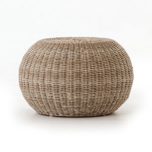 PHOENIX ACCENT STOOL – NATURAL ROPE