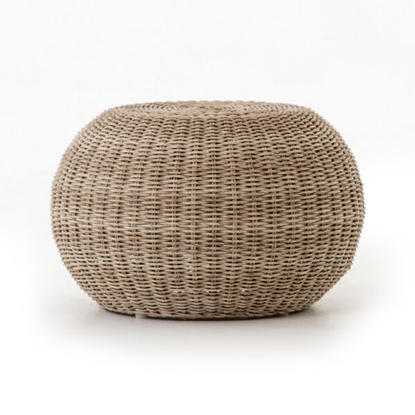 PHOENIX ACCENT STOOL - NATURAL ROPE