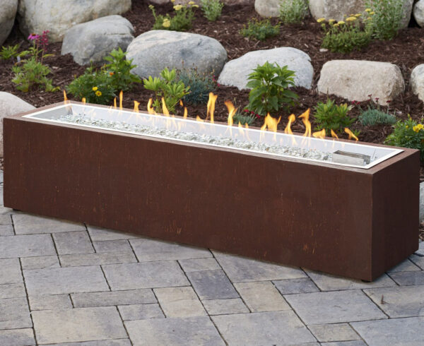 Rectangular Fire Tables - Cortlin without Wind Gurad
