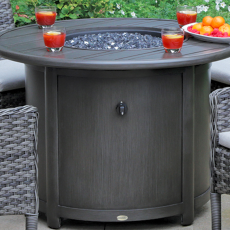 Round Fire Tables - Arlington