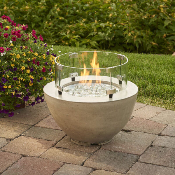 Round Fire Tables - Cove 12 Wind Guard