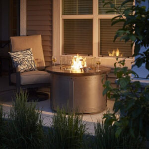Round Fire Tables – Edison