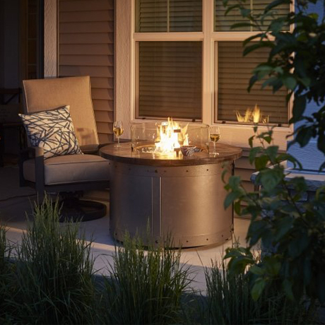 Round Fire Tables - Edison