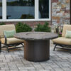 Round Fire Tables - Beacon Noche Round - Burner Cover