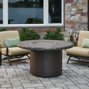 Round Fire Tables – Beacon Noche Round – Burner Cover