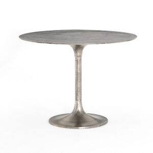SIMONE BISTRO TABLE - NICKEL