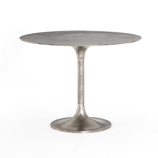 SIMONE BISTRO TABLE - NICKEL