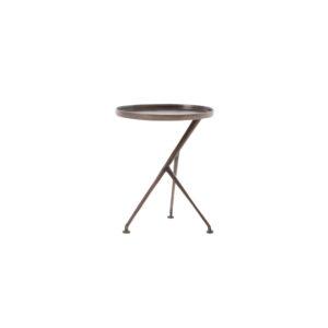 Schmidt End Table - Antique Rust