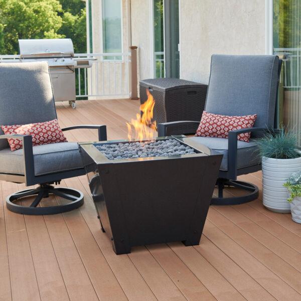 Square Fire Tables - AX LAV-TMB