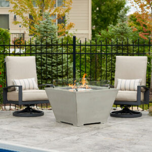 Square Fire Tables - Cove Square