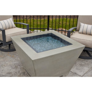 Square Fire Tables - Cove Square