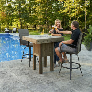 Square Fire Tables - Westport Lifestyle