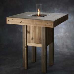 Square Fire Tables - Westport Pub