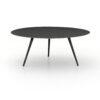 TRULA COFFEE TABLE - RUBBED BLACK