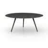 TRULA COFFEE TABLE - RUBBED BLACK
