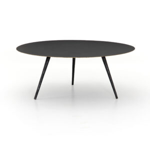 TRULA COFFEE TABLE – RUBBED BLACK