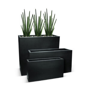 BEST SELLERS - BETONA BOX PLANTERS - BLACK