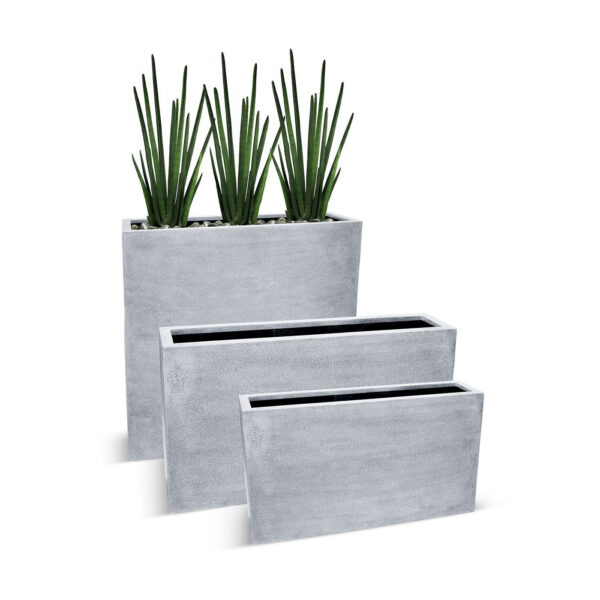 BEST SELLERS - BETONA BOX PLANTERS - GREY