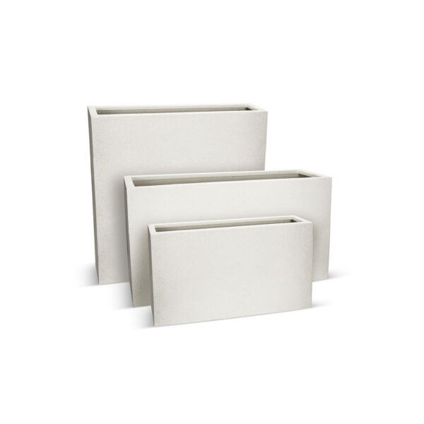 BEST SELLERS - BETONA BOX PLANTERS - WHITE