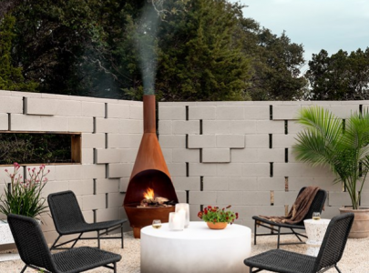 We all try to keep up with the trends of now inside our homes, right?  Why not outside too?