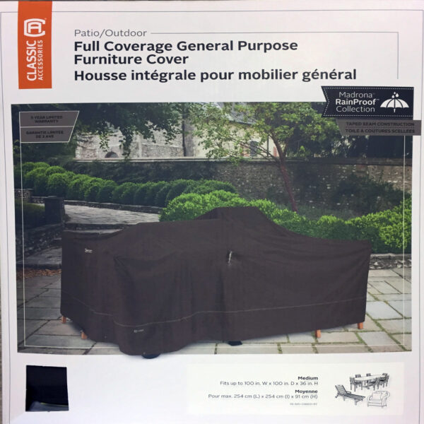 FULL COVERAGE DROP COVER 100 X 100
