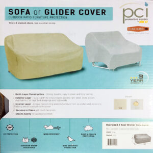 PCI - OVERSIZED LOVESEAT COVER