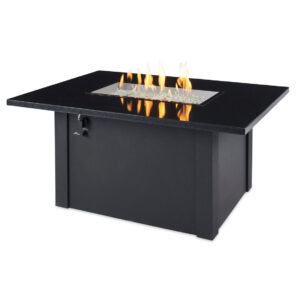 Rectangular Fire Table – Archer w Flames