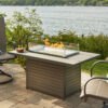 Rectangular Fire Tables - Brooks with With Guard