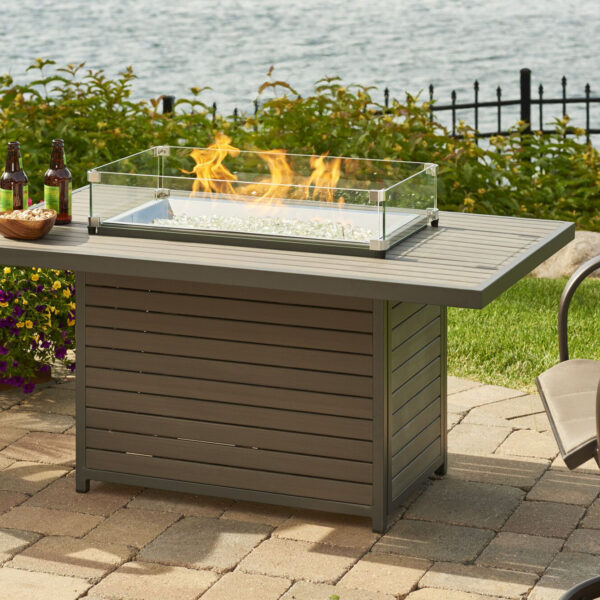Rectangular Fire Tables - Brooks with With Guard3