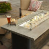 Rectangular Fire Tables - Cedar Ridge Close Up