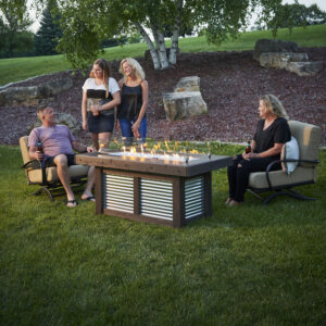 Rectangular Fire Tables - Denali Brew Lifestyle