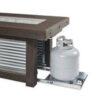 Rectangular Fire Tables - Denali Brew Slide Out Tank Rectangular