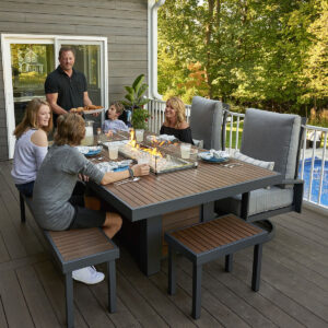 Rectangular Fire Tables – Kenwood Dining Table Life Style Rectangular