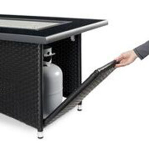 Rectangular Fire Tables - Montego Tank Door