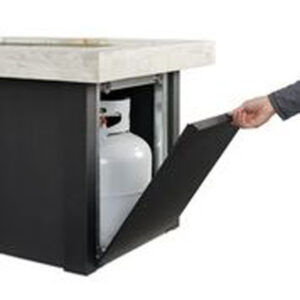 Rectangular Fire Tables - Providence Door Tank Rectangular