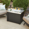 Rectangular Fire Tables - Providence SS with Wind Guard