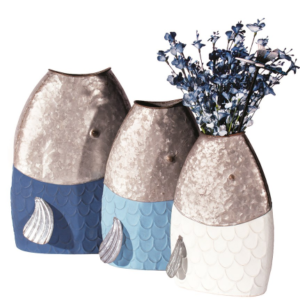 Fish Planters - Set of 3