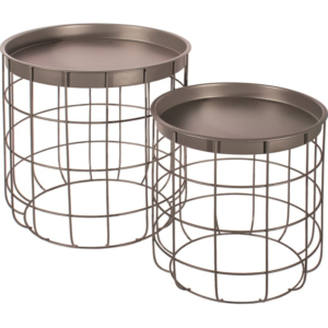 Table Baskets Grey