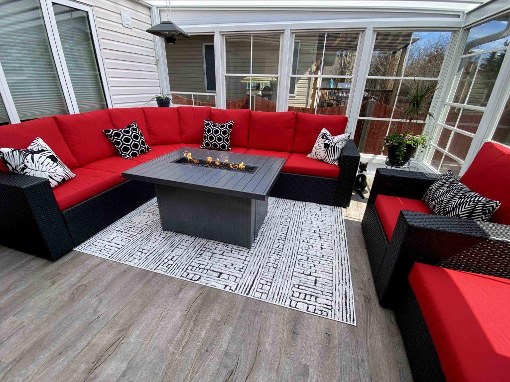 Outdoor Furniture Sectional - REDEKOPP