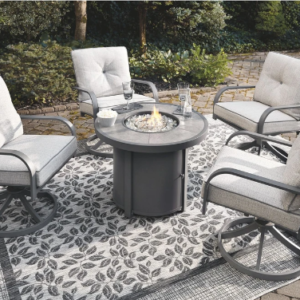 Donnalee 5 Piece Set w Fire Table