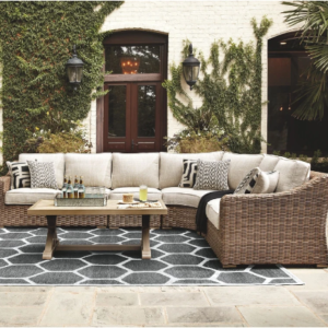 Beachcroft Sectional By Ashley Outdoor